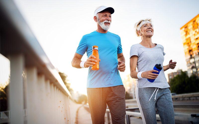 fit blijven door te hardlopen