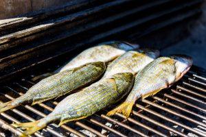 recepten met vis op de bbq