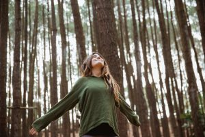 boswandeling voor minder stress