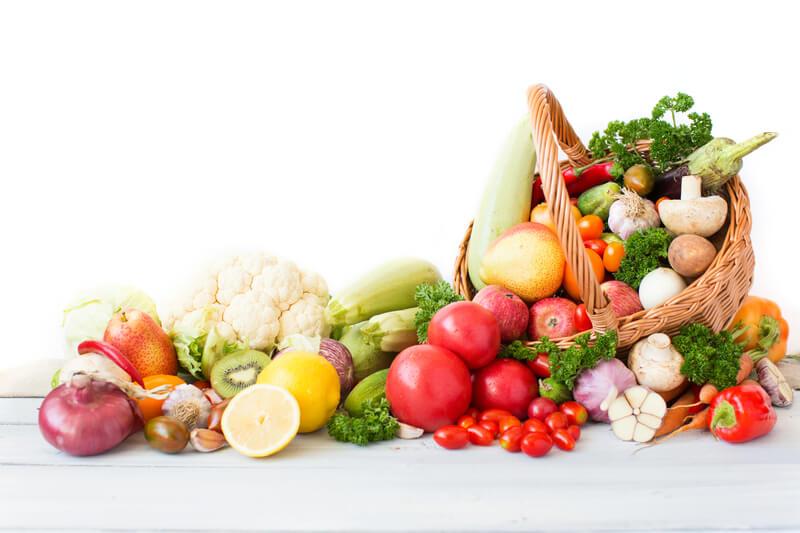 fruit en groenten eten